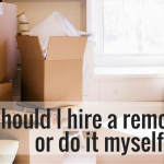 Should I hire a removalist or do it myself