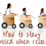How to stay organised when relocating