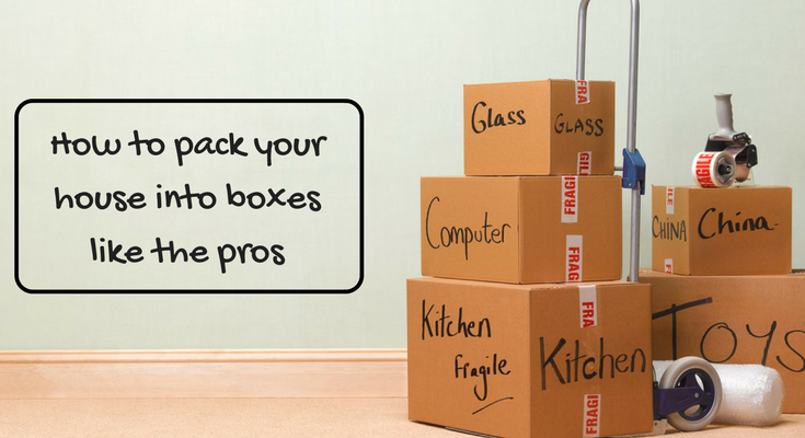 how to pack your house into boxes like the pros